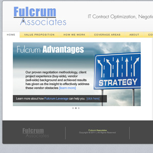 fulcrum associates website design