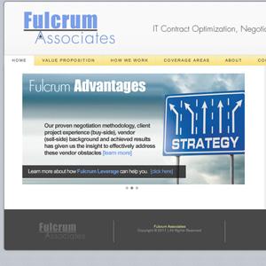 fulcrum associates website design